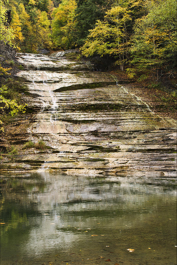 Buttermilk Falls Photograph  - Buttermilk Falls Fine Art Print