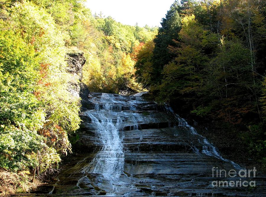 Buttermilk Falls Ithaca New York Photograph