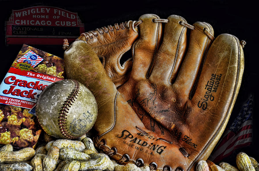 Baseball Photograph - Buy Me Some Peanuts And Cracker Jacks by Ken Smith