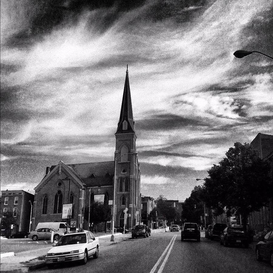 Bw Hanover Street Photograph