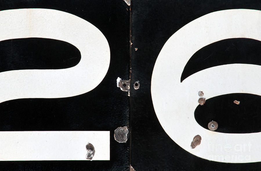 Number Photograph - By The Numbers by Dan Holm