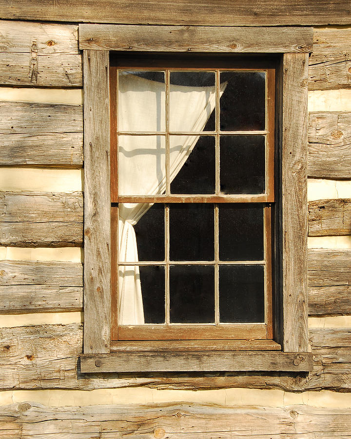 Cabin Window Photograph By Michael Fenton