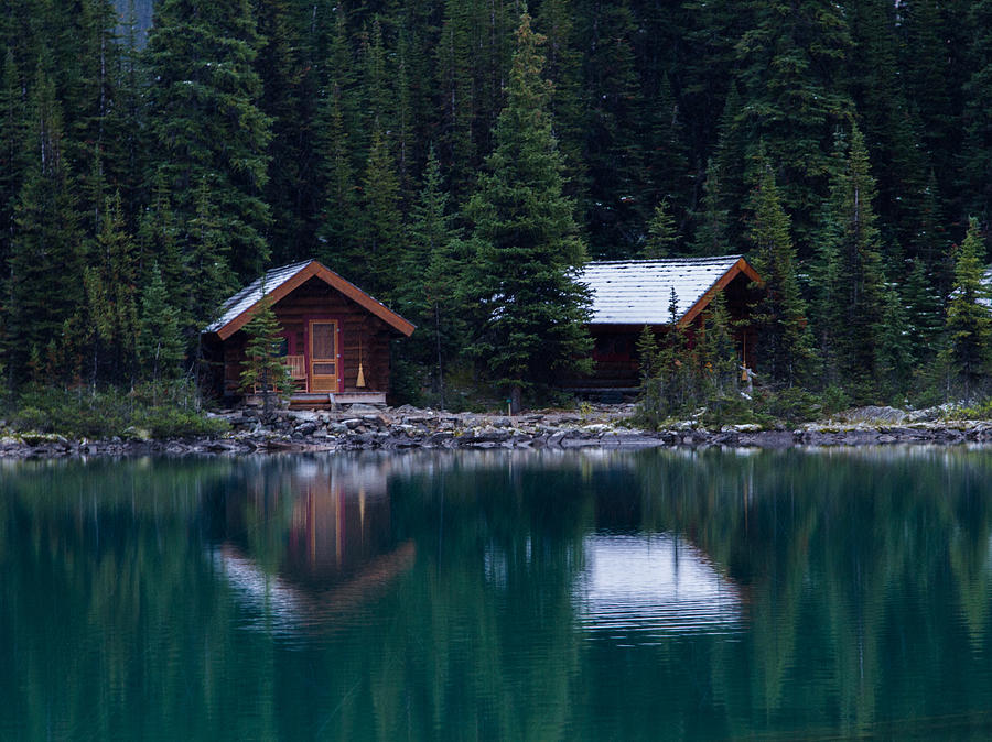 Cabins On The Lake Photograph By Marwan Alsaedi