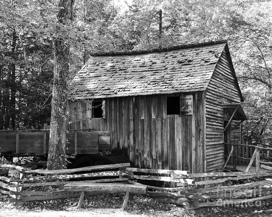 Cable Grist Mill 1 Photograph  - Cable Grist Mill 1 Fine Art Print