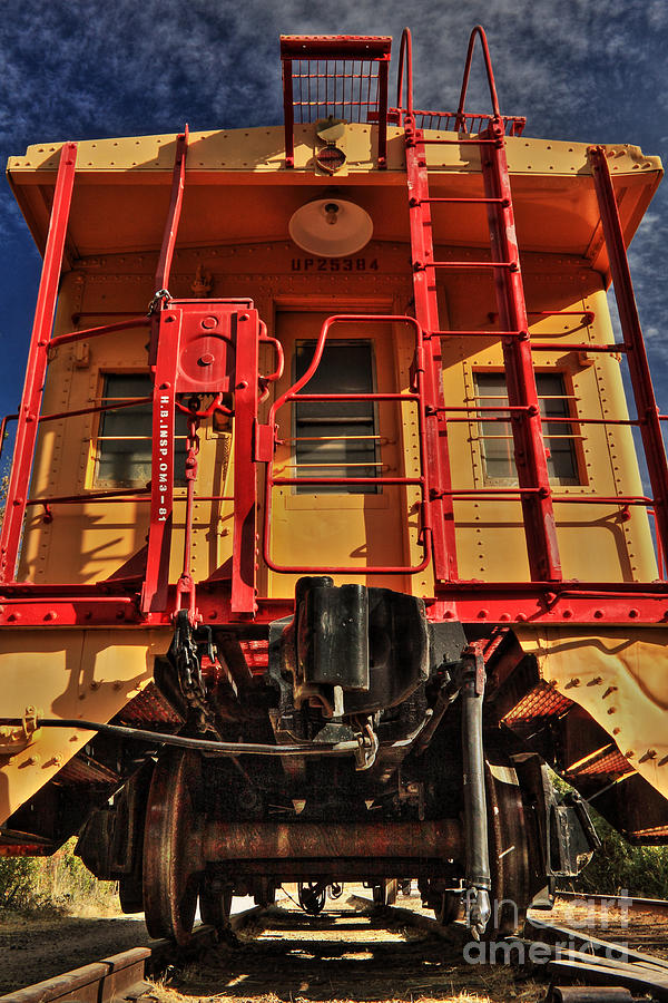 Caboose Photograph - Caboose by James Eddy