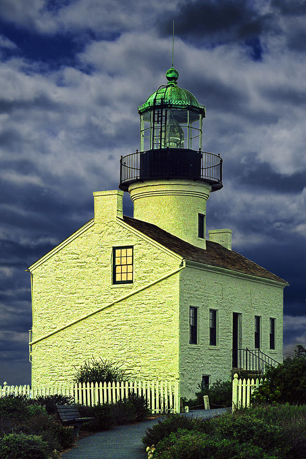Cabrillo National Monument Lighthouse No 1 Photograph