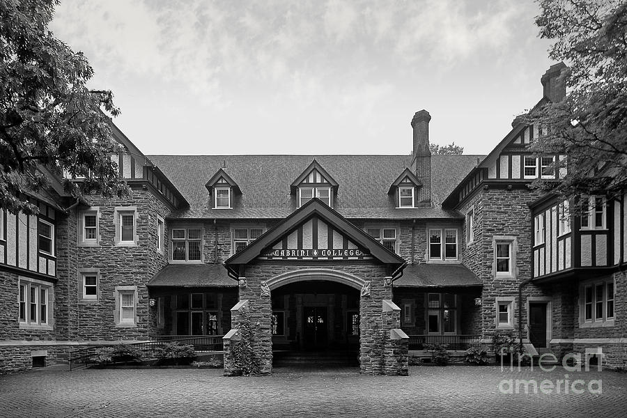 Cabrini College The Mansion Photograph  - Cabrini College The Mansion Fine Art Print