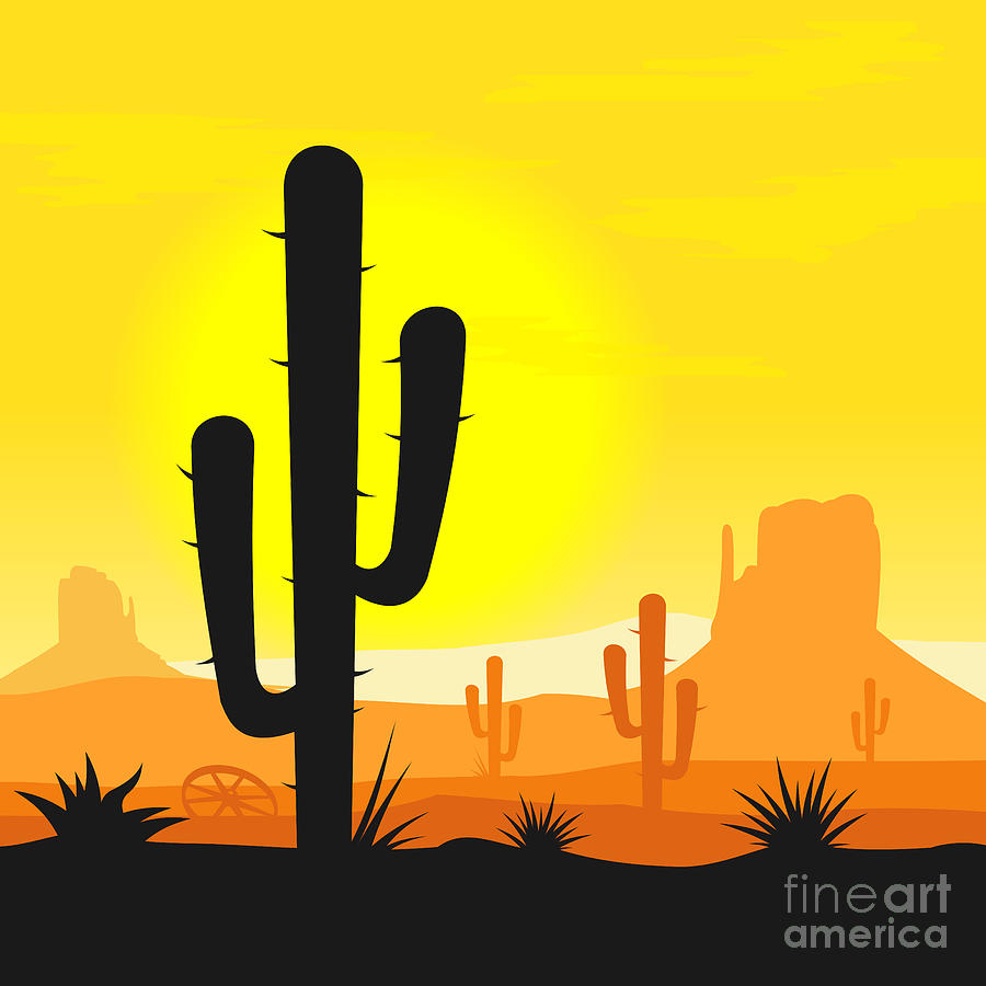 Desert Plants Drawings Images