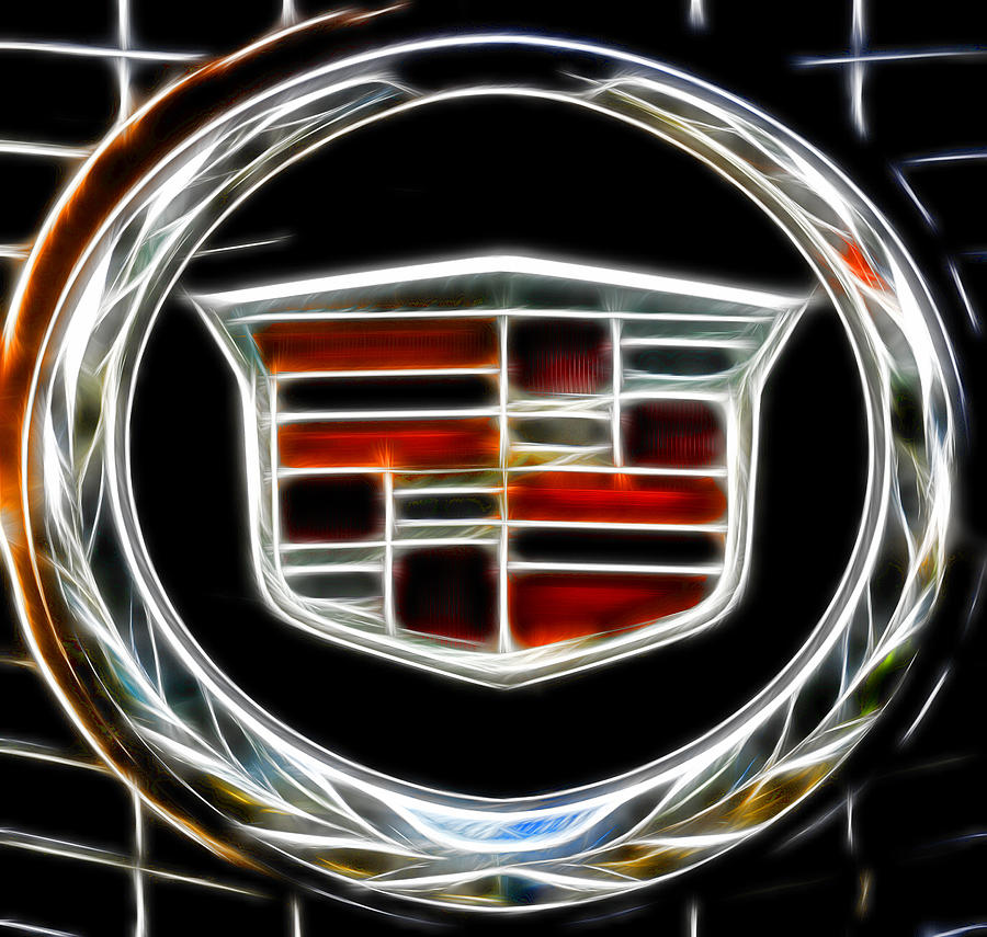 Cadillac Photograph - Cadillac Emblem B by Lawrence Christopher