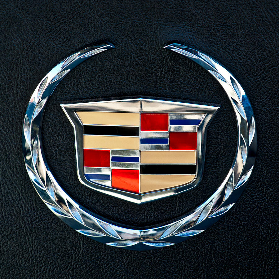 Cadillac Emblem Photograph - Cadillac Emblem by Jill Reger