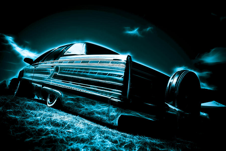 Cadillac Lowrider Photograph