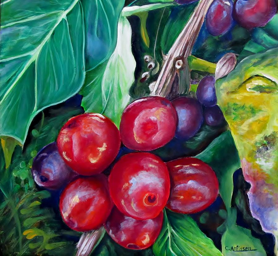 Cafe Costa Rica Painting