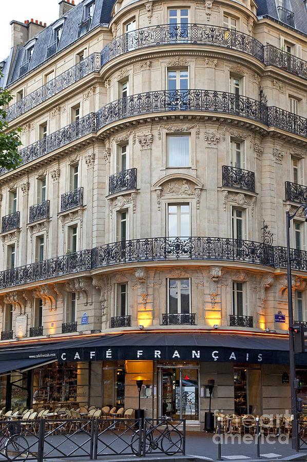 Cafe Francais Photograph