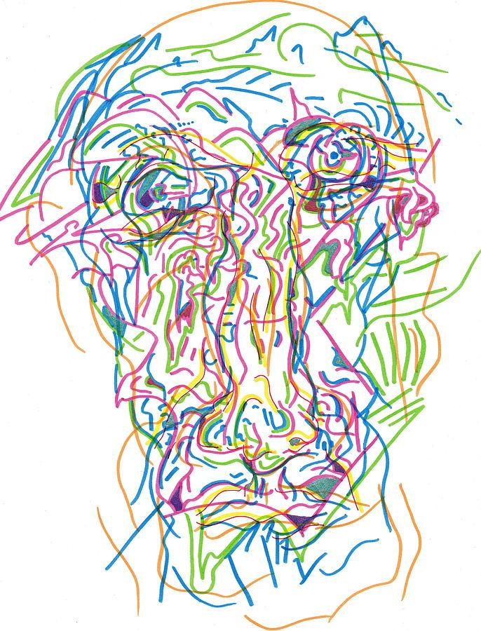 Caffeine Rush Drawing