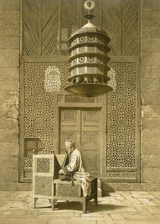 Cairo Funerary Or Sepuchral Mosque Painting