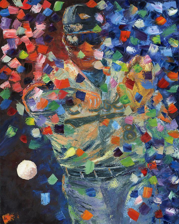 Cal Ripken Jr Painting