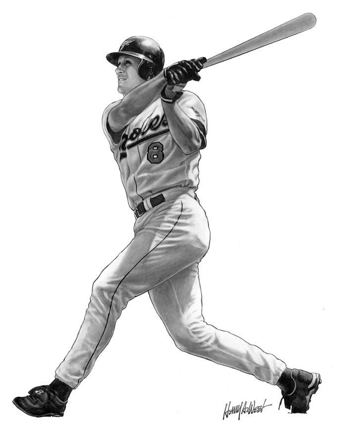 Cal Ripken Jr II Drawing