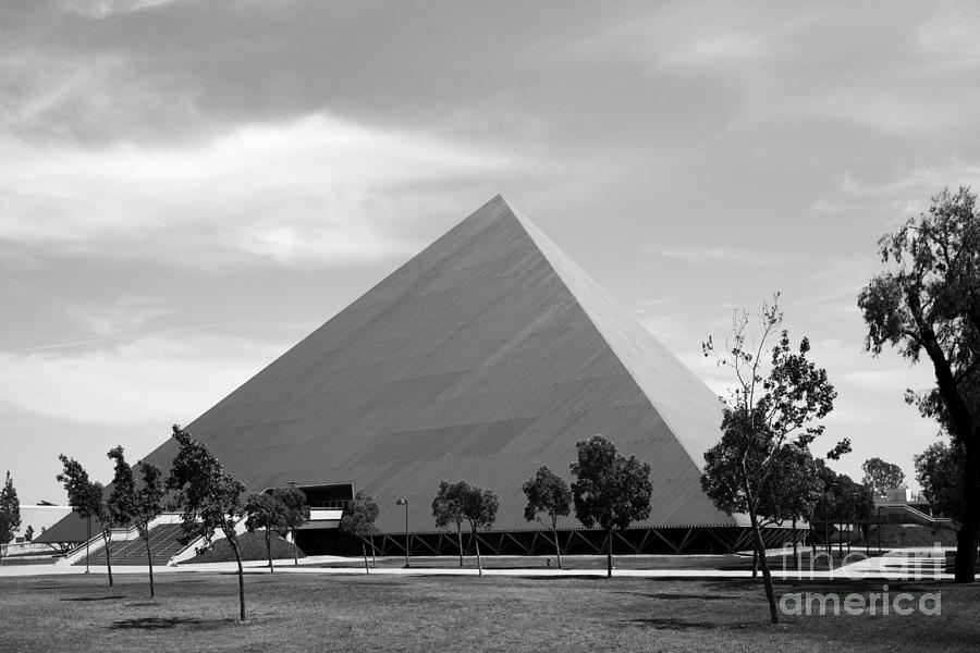 Cal State University Long Beach Walter Pyramid Photograph