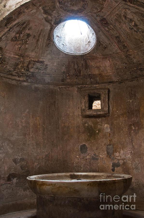 Pompeii Photograph - Calidarium by Marion Galt