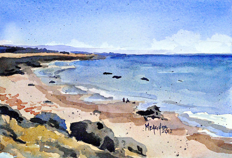 California Coastline Painting