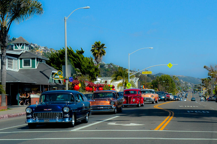 California Cruisin  Photograph  - California Cruisin  Fine Art Print