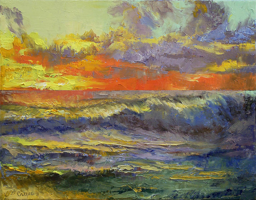 California Painting - California Dreaming by Michael Creese