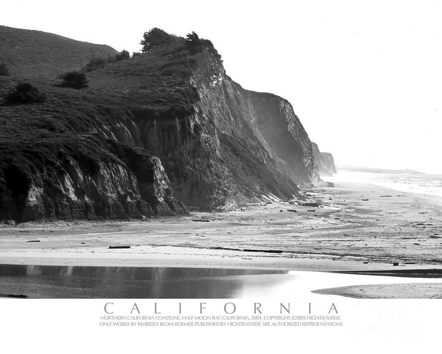 California Ocean Cliffs Photograph
