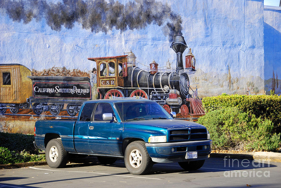 California Steamin Photograph  - California Steamin Fine Art Print