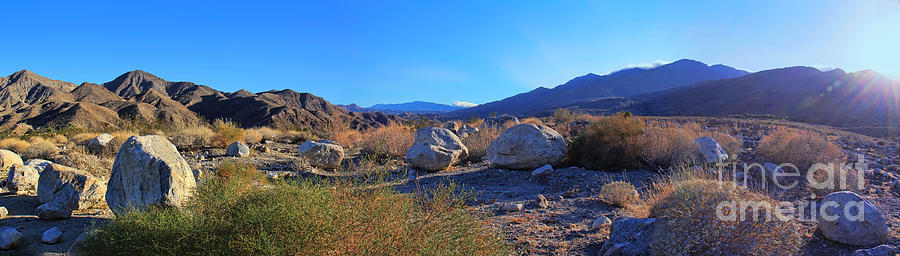 California Wilderness Panorama Photograph  - California Wilderness Panorama Fine Art Print