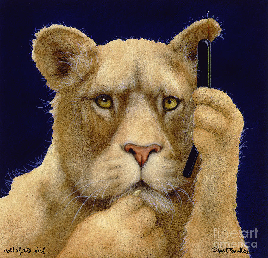 Call Of The Wild... Painting  - Call Of The Wild... Fine Art Print