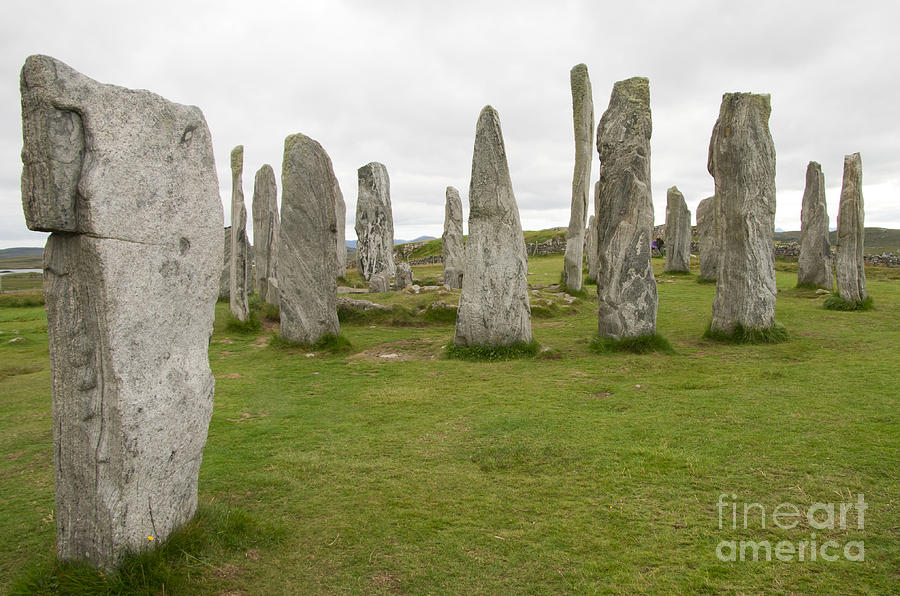 Callanish Standing Stones Photograph