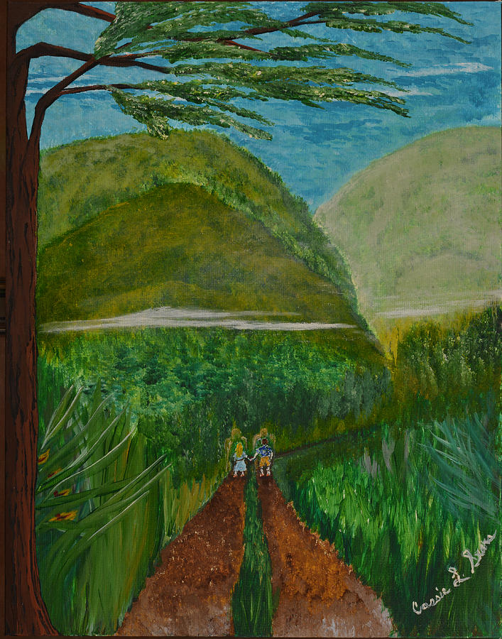 Art-by-cassie Sears Painting - Called To The Mission Field by Cassie Sears