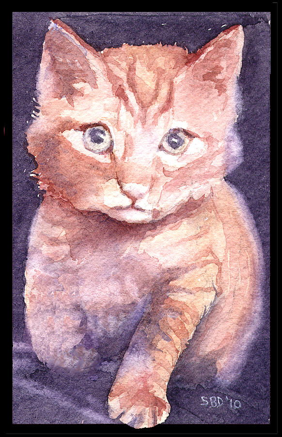 Callies Cats Painting  - Callies Cats Fine Art Print
