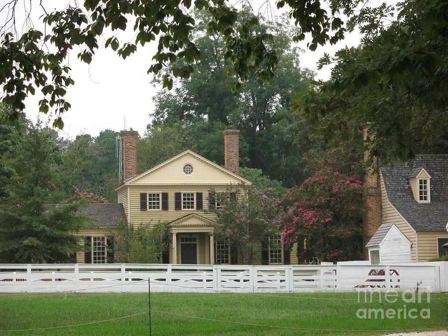 Calm Place In Colonial Williamburg Photograph