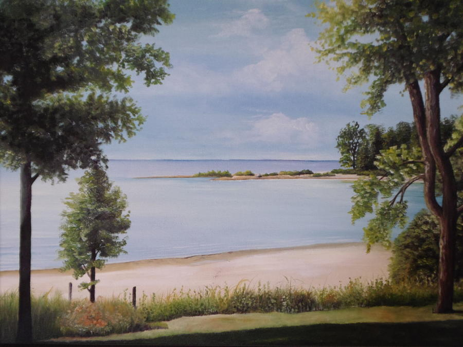 Calm Waters Painting