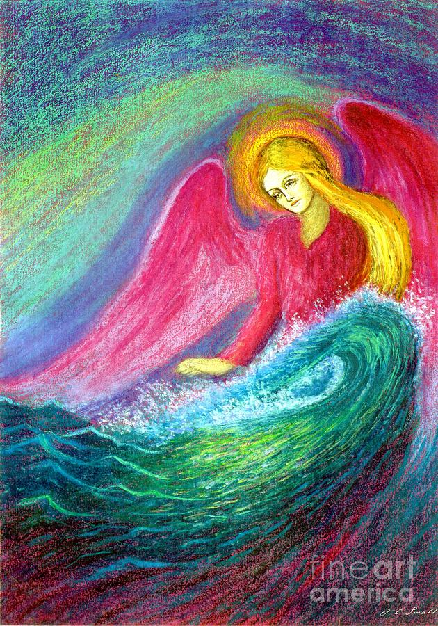 Calming Angel Painting