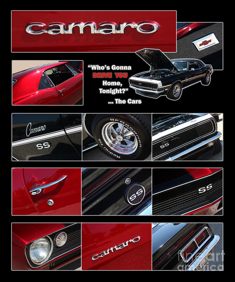 Camaro Photograph - Camaro-drive - Poster by Gary Gingrich Galleries