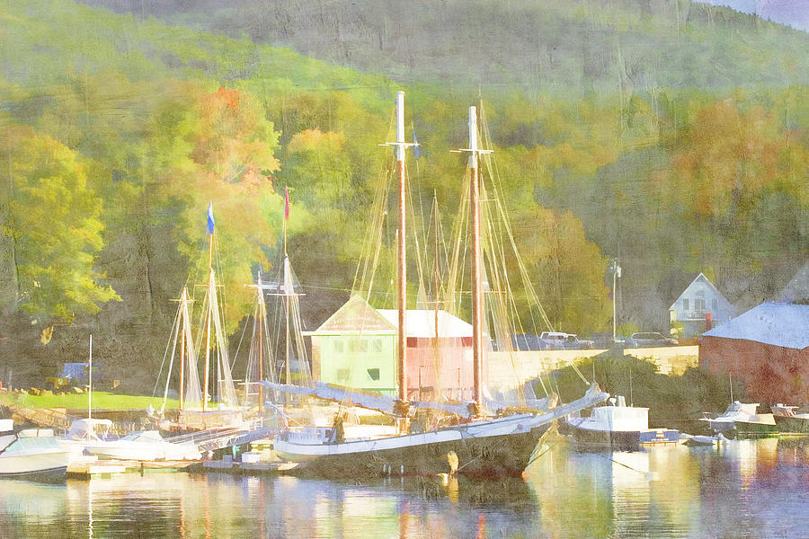 Camden Harbor Maine Photograph