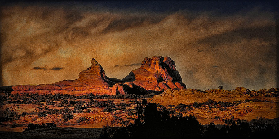 Camelback Canyon Lands Photograph