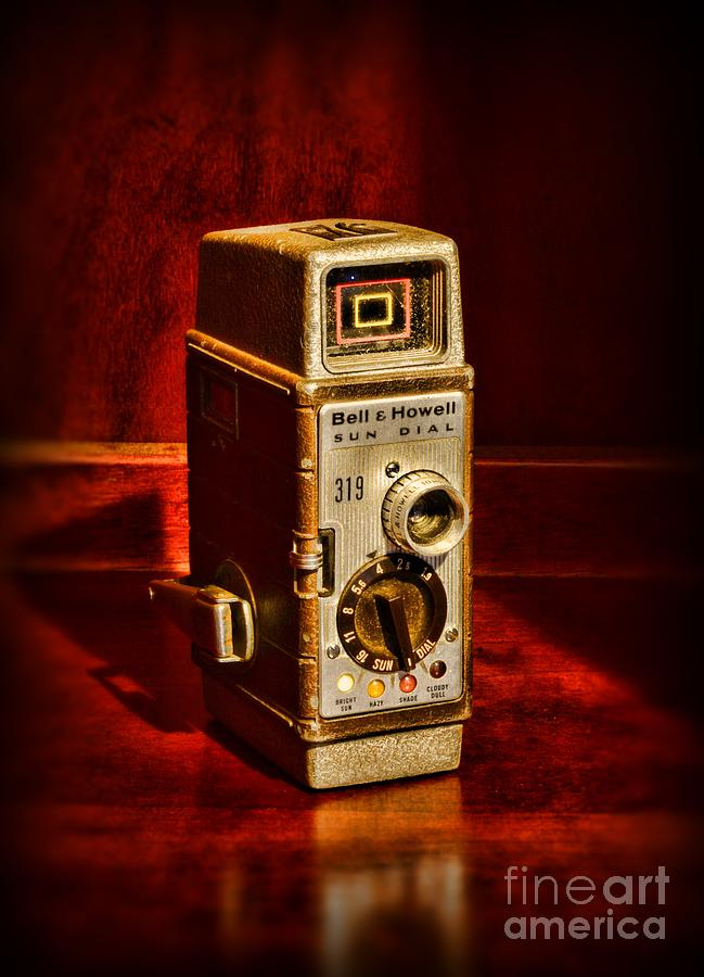 Camera - Vintage Bell And Howell Sun Dial 319 Photograph
