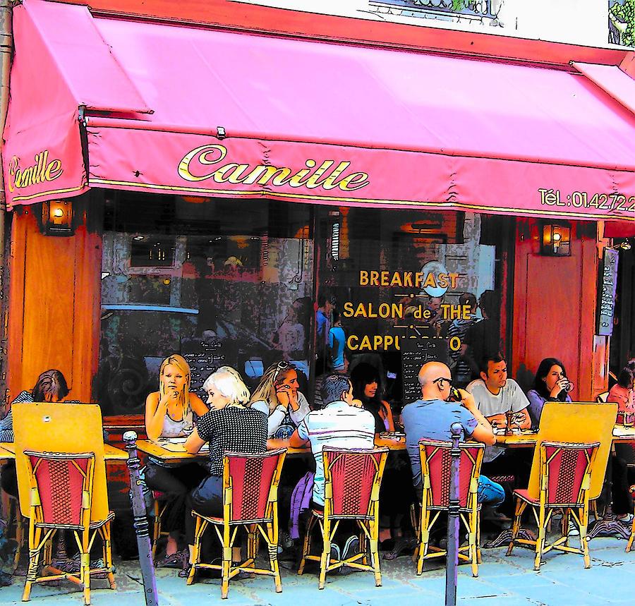 Cafe Rue Des Francs Bourgeois
