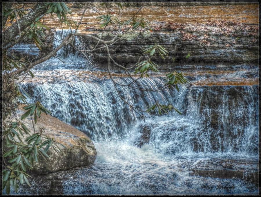 Camp Creek Falls Photograph  - Camp Creek Falls Fine Art Print