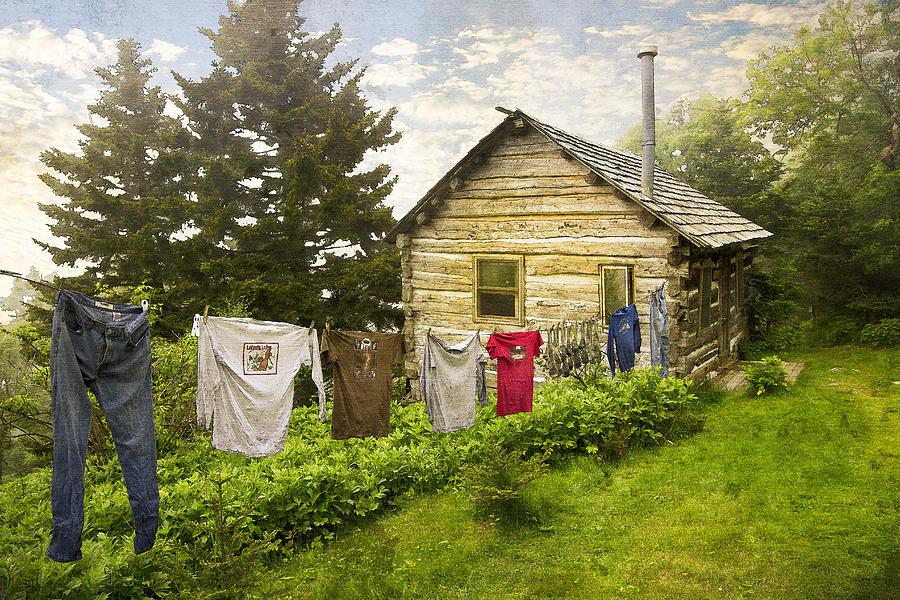 Appalachia Photograph - Camp Leconte by Debra and Dave Vanderlaan