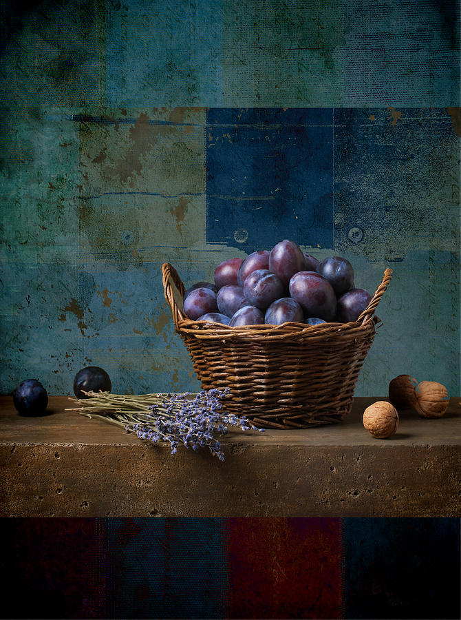 still Life Photograph - Campagnard - Rustic - S01obv by Variance Collections