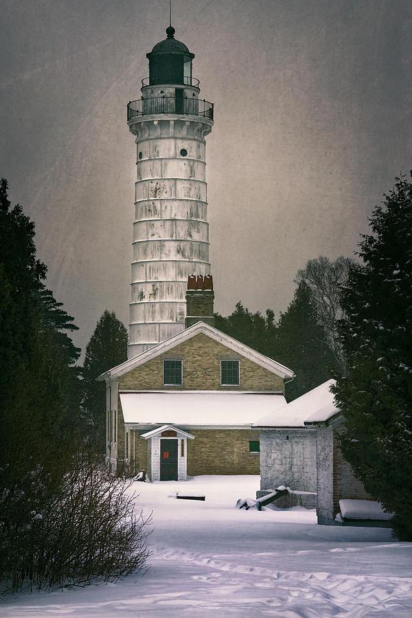 Cana Island Lighthouse Photograph - Cana Island Light II by Joan Carroll