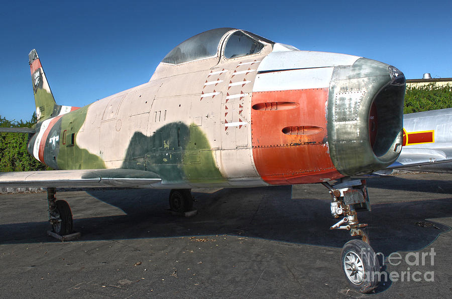 Canadair Sabre Qf-86h Photograph - Canadair Sabre Qf-86h by Gregory Dyer