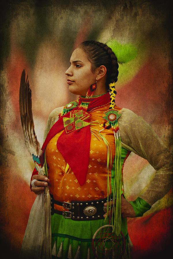 Canadian Aboriginal Woman Photograph