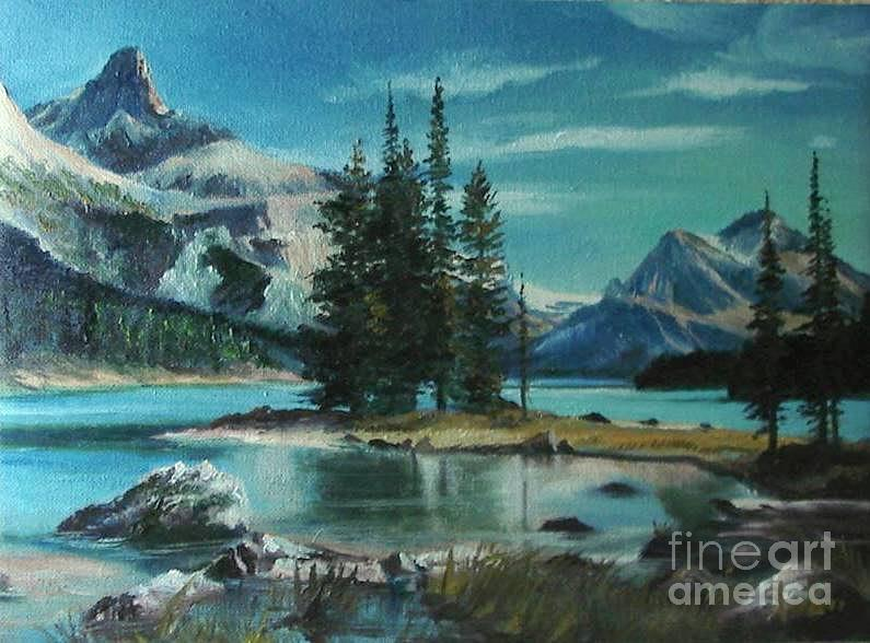 Canadian Landscape Christmas Special Offer Painting  - Canadian Landscape Christmas Special Offer Fine Art Print