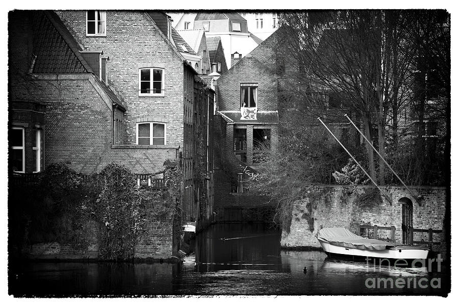 Canal Living In Bruges Photograph