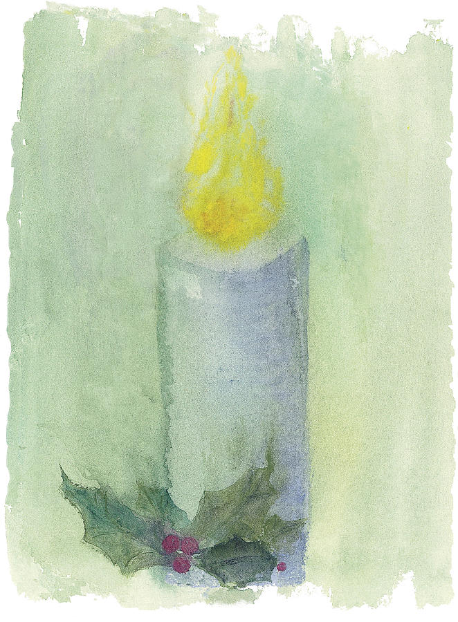 Candle painting by judy dodds for Candle painting medium